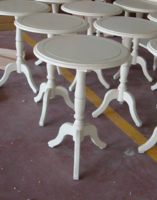 Side tables for argyle imports round lamp table 55x70h aloadofball Choice Image